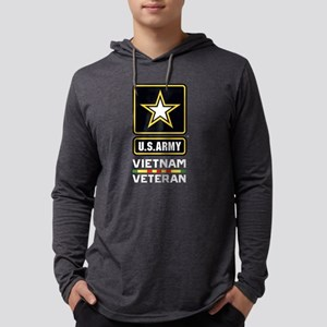 U.S. Army Vietnam Veteran Mens Hooded Shirt